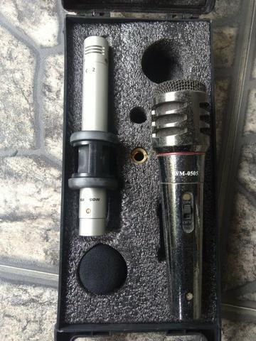 Vendo Barato Microfones,tripé e headphone - Foto 3
