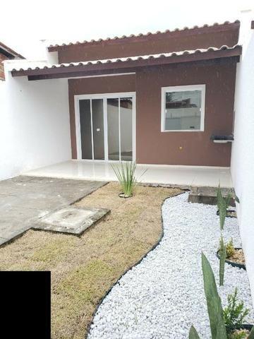 Casas com 2 Quartos sendo 1 Suítes com Acabamento diferenciado, paisagismo - Foto 3
