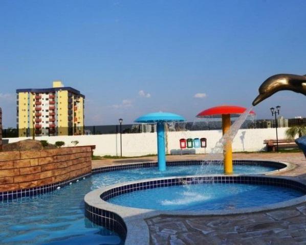 Apartamento 2 quartos para temporada em caldas novas, golden dolphin supreme bairro: turis - Foto 2