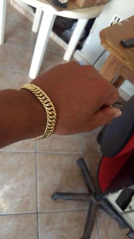 Corrente + pulseira grume feita de moeda antiga com garantia eterna - Foto 5