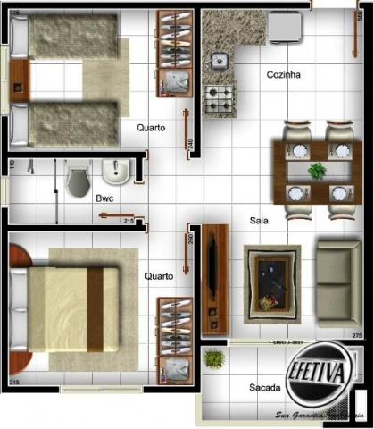 Apartamento 2 quartos - gaivotas - matinhos-pr - Foto 4