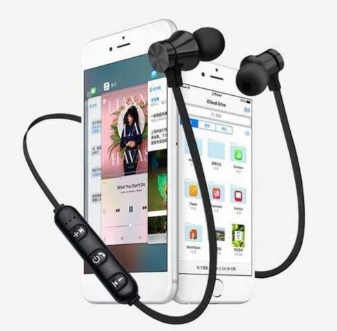 Fone De Ouvido Magnetico Altomex Original Bluetooth Celular Android iOS Música