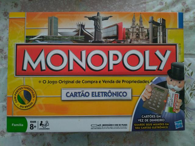 Jogo Monopoly - Com cartão eletrônico