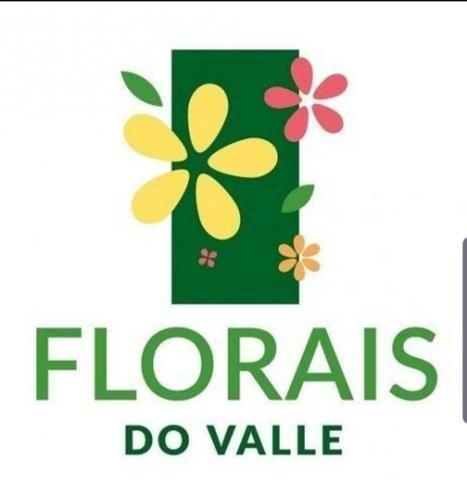 Lote condomínio florais do Valle 617mts aceito carro ou parcelo