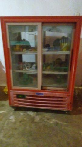 Freezer expositor vermelho - Foto 2