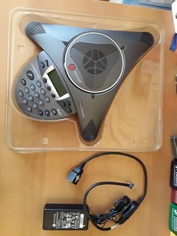 Telefone Polycom Soundstation Ip6000 para audio conferência - Foto 3