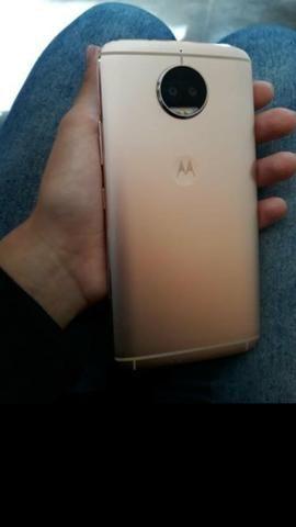 Moto g5s plus ouro Rosé