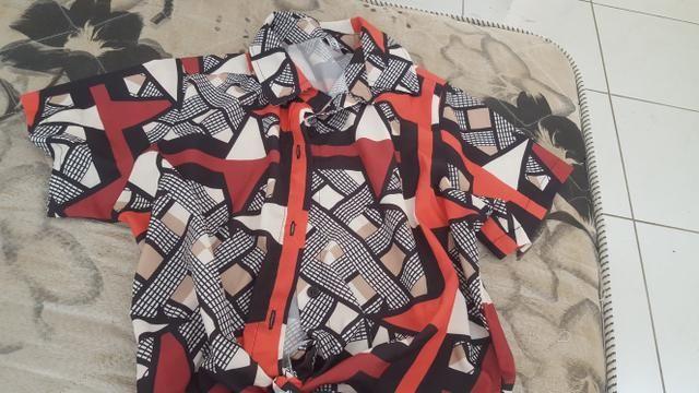 Blusa estampada- retirada shopp maracanau - Foto 2