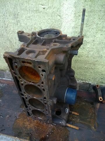 Bloco motor sandero 1.6