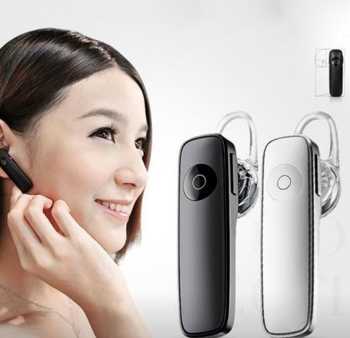 Fone de Ouvido 1 Lado Bluetooth Android celular - Foto 3