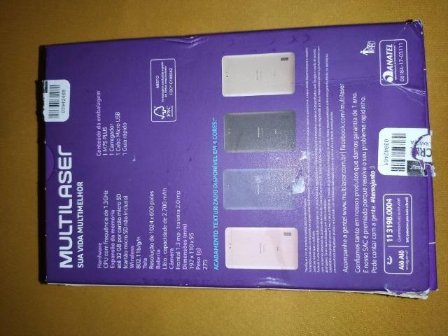Tablet Multilaser M7s Plus quad Core 8 gb Rosa c/wifi - Foto 2
