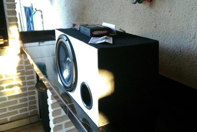 Caixa de som Pioneer com Módulo SD Digital 600.1 RMS - Foto 3