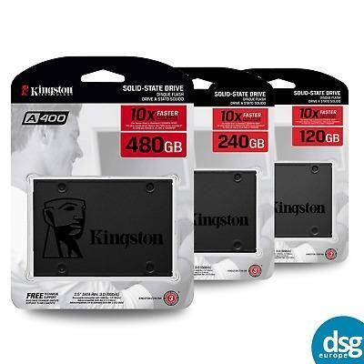 """Ssd Kingston A400 2.5"""" 120GB sata III 320MB SA400S37/120G"""