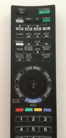 Controle remoto original Sony RM-yd058 TV 46HX-925 Seminovo - Foto 2