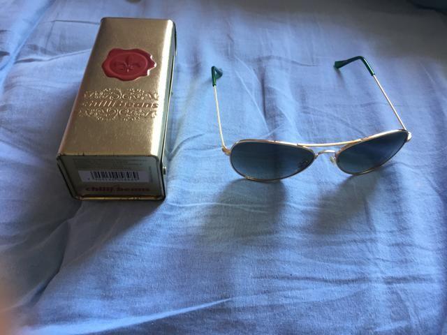 e125374350b05 Óculos de sol Chilli Beans original, nunca usado, na caixa, novíssimo