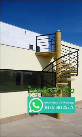 Fabricação de Escada Caracol, Escada Reta e Fundição em geral - Foto 3