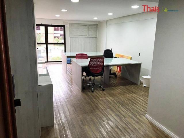 Sala comercial a venda, centro empresarial, 02 vagas de garagem, asa sul, brasília - sa027