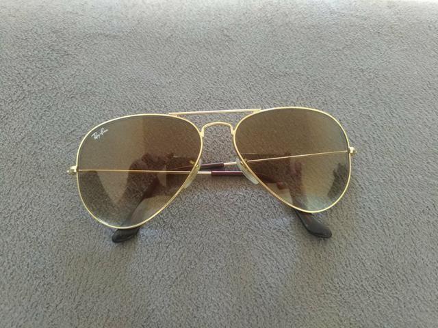 28a304e9ce854 Óculos ray ban aviador original - Bijouterias, relógios e acessórios ...