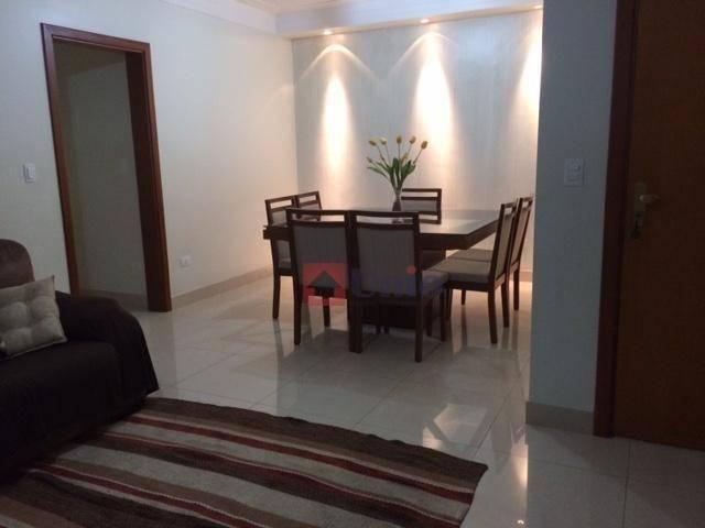 Apartamento com 3 dormitórios à venda, 138 m² por R$ 620.000,00 - Castelinho - Piracicaba/