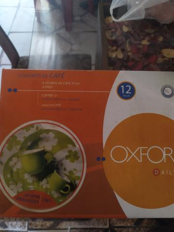 Jogo de xícaras 75 ml Oxford - Foto 3