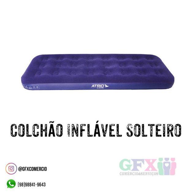 Colchão inflável solteiro - produto novo