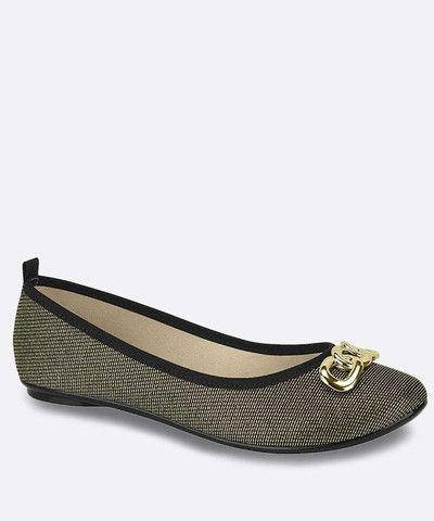 Sapatilha /Sandália/ Sapato Moleca Feminina dourada - Nova na Caixa - Foto 3