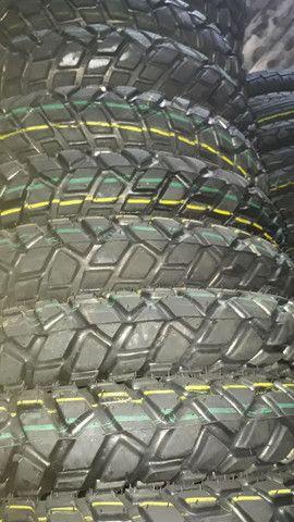 pneus para motos dianteiro e traseiro  - Foto 2