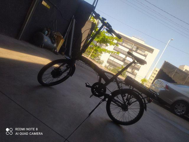 Bike elétrica SENSE 2020 impecavel - Foto 6