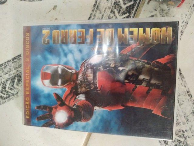 DVD's Homem de Ferro 2 e Superman - O Retorno - Foto 2