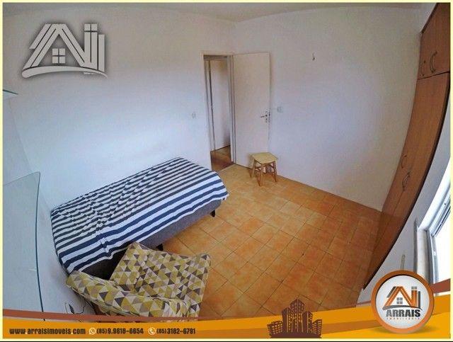 Apartamento com 3 dormitórios à venda, 96 m² por R$ 280.000,00 - Vila União - Fortaleza/CE - Foto 9