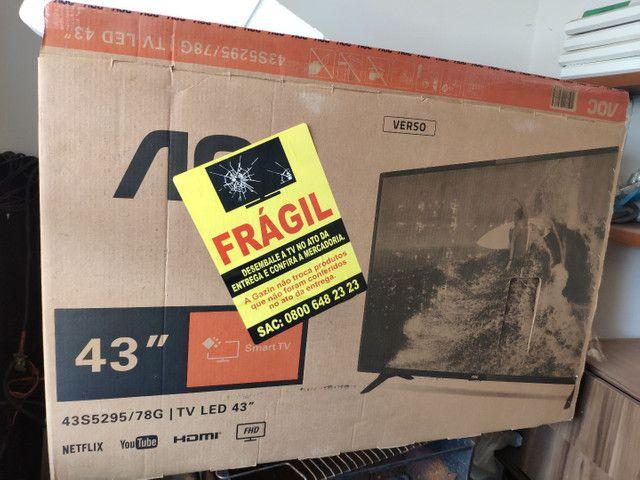 Smart TV 43' fullhd HDR