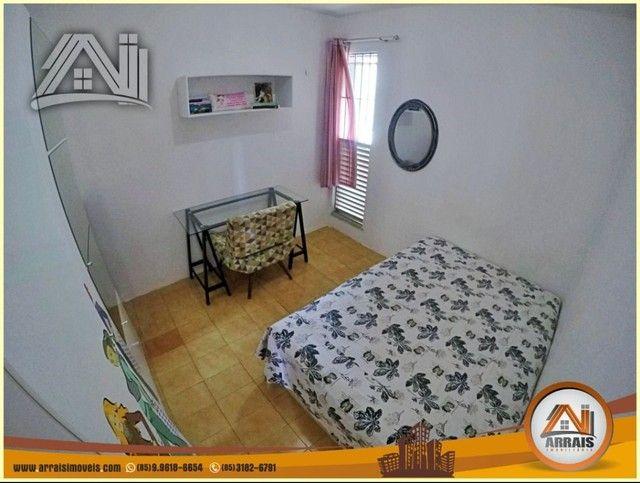 Apartamento com 3 dormitórios à venda, 96 m² por R$ 280.000,00 - Vila União - Fortaleza/CE - Foto 11