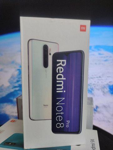 Promoção Level UP Xiaomi BH. Redmi Note 8 PRO 128 ..Novo Entrega imediata
