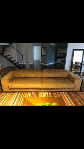 sofá retrátil 4 lugares