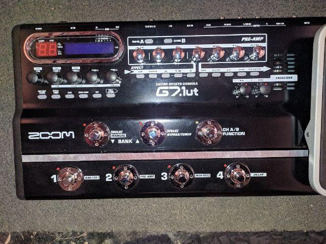 Pedaleira Zoom G7. 1ut