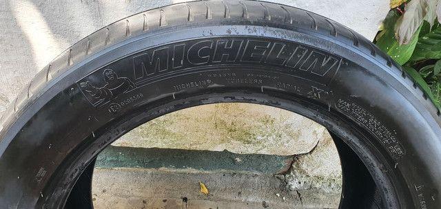 4 pneus 215/55 R17 Michelin R$: 800 somente dinheiro  - Foto 3