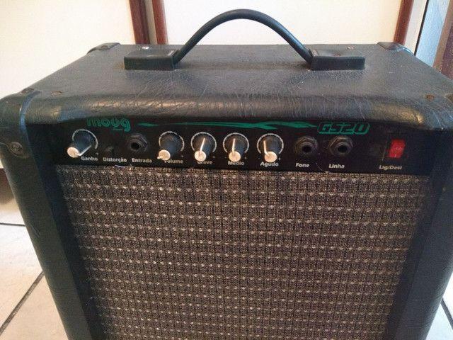 Caixa moog gs20 para guitarra