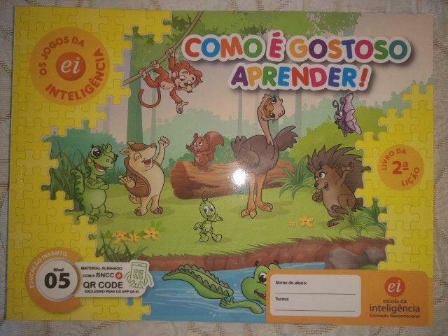 Kit 9 Livros Ei Escola Da Inteligência 2° Período 4 E 5 Anos - Foto 3