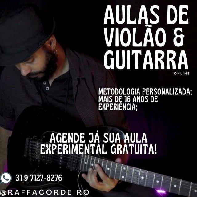 Aula Experimental de Violão & Guitarra Gratuita