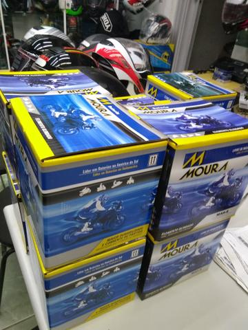 Bateria moura para motos citycom300i boulevard m800 ma10-e entrega em todo rio - Foto 4