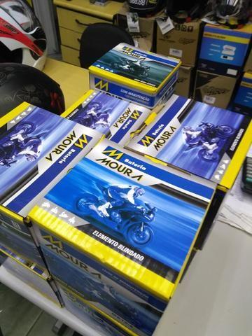 Bateria moura para motos citycom300i boulevard m800 ma10-e entrega em todo rio - Foto 3