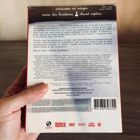 DVD Presença de Anita - Série Completa - Foto 6