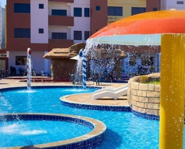 Apartamento 2 quartos para temporada em caldas novas, golden dolphin supreme bairro: turis