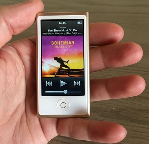 IPod Nano 7 16GB Dourado (impecável)