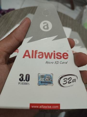 Cartão Memória Micro SD 32GB Classe 10 + MP3 Player