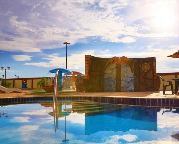 Apartamento 2 quartos para temporada em caldas novas, golden dolphin supreme bairro: turis - Foto 3