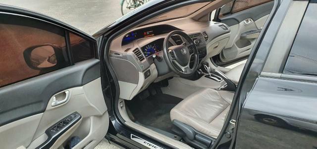 Honda Civic Sedan LXR 2.0 Flexone + GNV 5g 16V Aut. 4p - Preto - 2014 46.900 - Foto 9