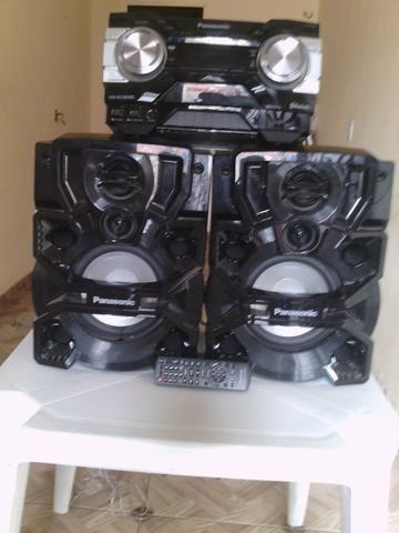 Som Panasonic 1200 watts MUITO NOVO