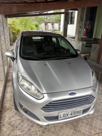 Vendo New Fiesta Titanium 2014 Hatch - Foto 2