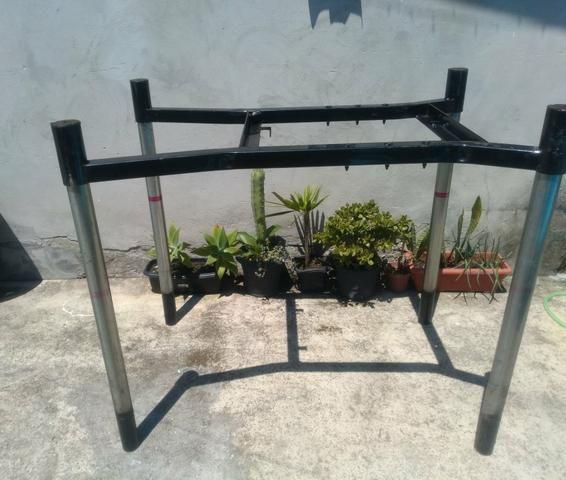 Vendo estruturas de ferro reforçado e desmontável. Tipo mesa !! $35,00.!! - Foto 6